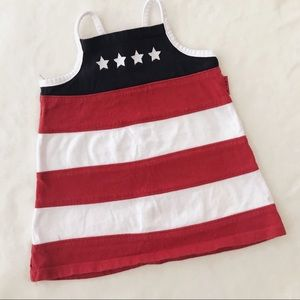American flag style tunic